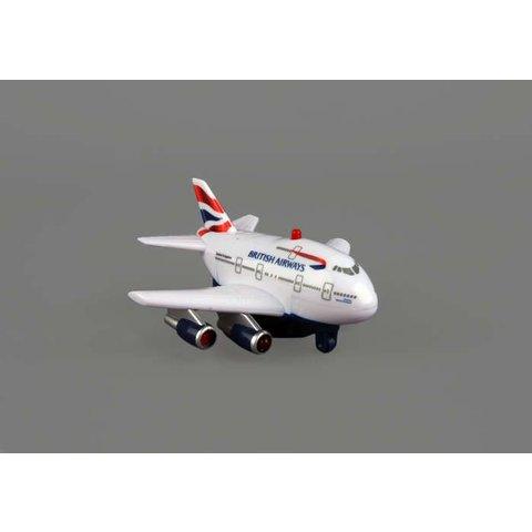 British Airways B747 Pullback With Light & Sound