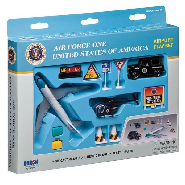 Daron WWT Air Force One Airport Playset