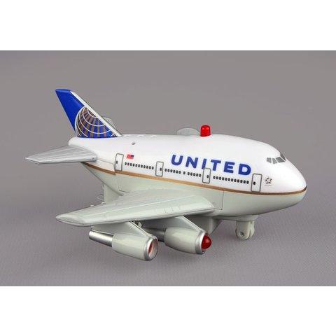 United B747 Pullback W/Light & Sound