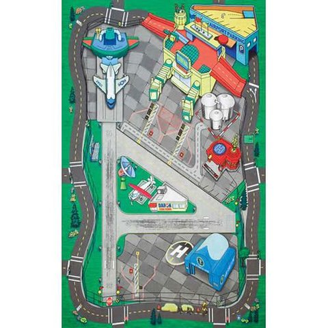 Large Airport Playmat (Felt) 41 1/4 X 31 1/2 Inches