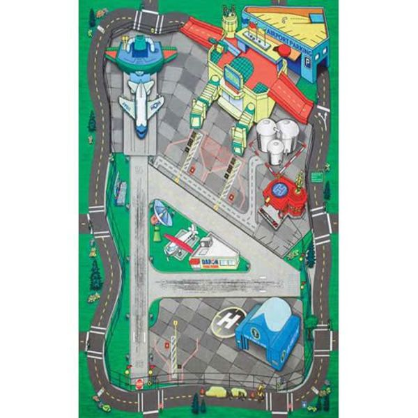 Daron WWT Large Airport Playmat (Felt) 41 1/4 X 31 1/2 Inches