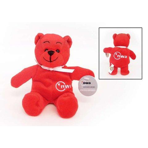 Plush Teddy Bear Northwest Red