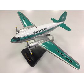 C46 Commando Buffalo Airways Mahogany with stand