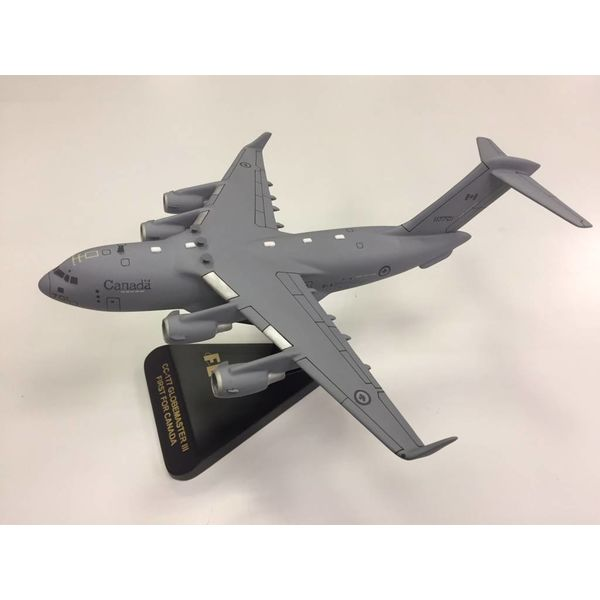 CC177 Globemaster III C17 RCAF 177701 Mahogany w/stand