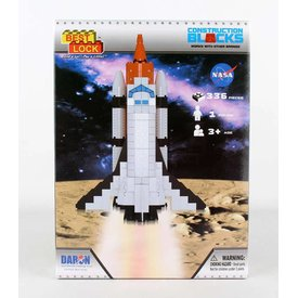 Best-Lock Construction Toys Space Shuttle 140 Piece Construction Toy