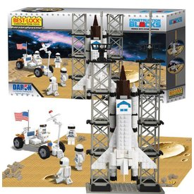 Best-Lock Construction Toys Space Shuttle 513 Piece Construction Toy