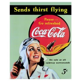 Coke Tin Sign