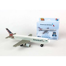 Best-Lock Construction Toys American Airlines 2013 livery 55 Piece Construction Toy