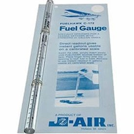 FUELHAWK Fuel Gauge C172/19gal