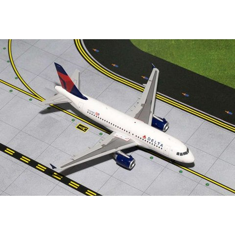 A319 Delta 2007 livery N349NB 1:200 with stand (2nd release)