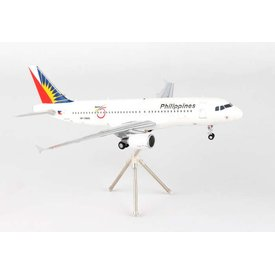 Gemini Jets A320 Philippines Airlines 75th Anniversary RP-C8619 1:200 with stand