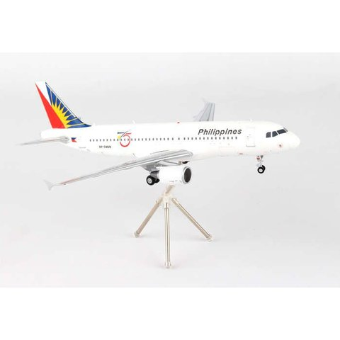A320 Philippines Airlines 75th Anniversary RP-C8619 1:200 with stand