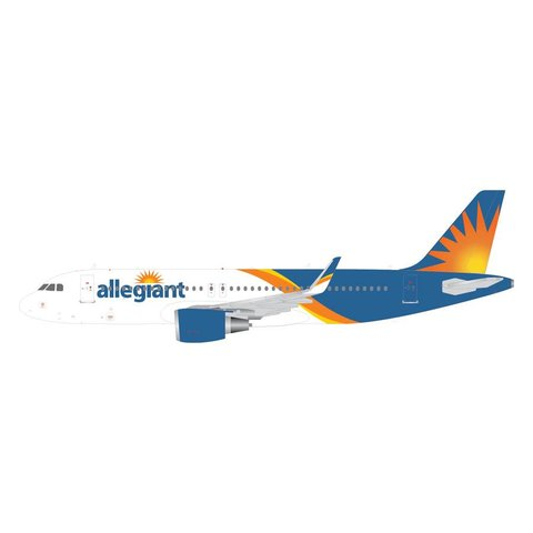 A320S Allegiant 2016 livery Sharklets 1:400