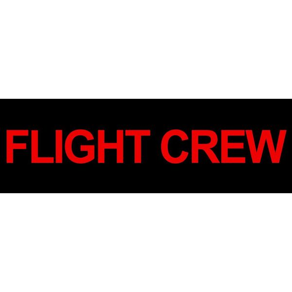 Sticker Flight Crew