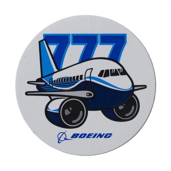 Boeing Store 777 Pudgy Plane Sticker