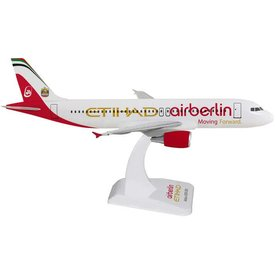 Hogan A320 ETIHAD AIR BERLIN 1:200 SCALE DISPLAY MODEL (NO GEAR)