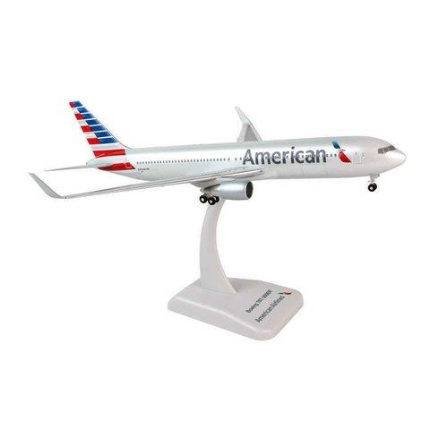 HOGAN AMERICAN 767-300ER 1/200 W/GEAR REG#N383AN