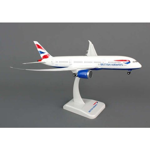 HOGAN BRITISH AIRWAYS 787-8 1/200 W/GEAR REG#G-ZBJA