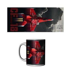 Labusch Skywear Canada 150 CF18 Hornet Ceramic Mug