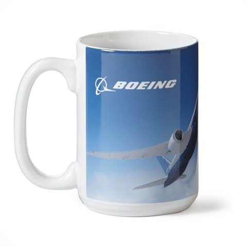 787 Dreamliner Sky Mug