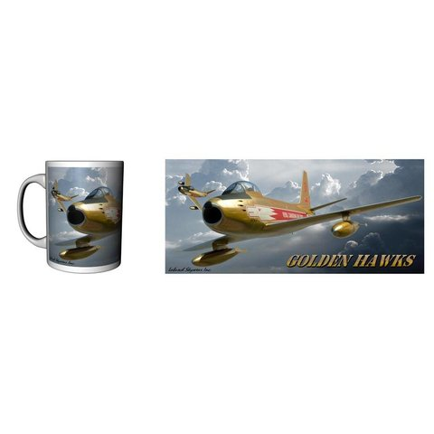 Mug Golden Hawks Ceramic