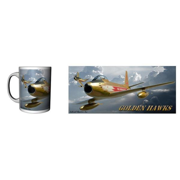 Labusch Skywear Mug Golden Hawks Ceramic