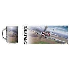 Labusch Skywear Mug P-51 Mustang (USAF) Ceramic