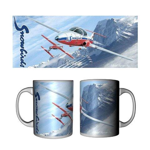 Mug Snowbirds Ceramic