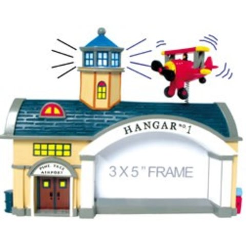 AIRPORT HANGAR PICTURE FRAME