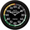 Modern Airspeed Indicator Clock