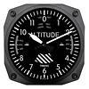 Classic Altimeter Clock