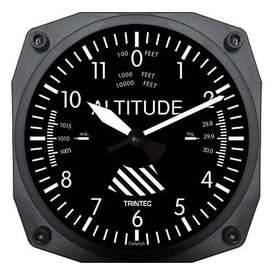 Trintec Industries Classic Altimeter Wall Clock