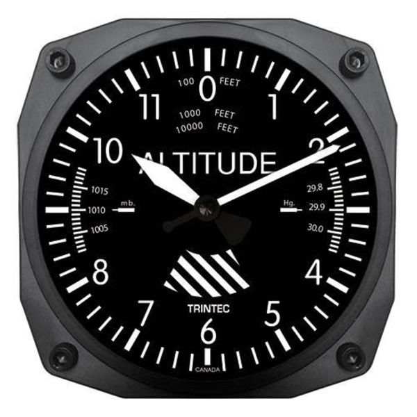 Trintec Industries Classic Altimeter Clock