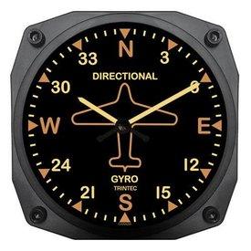 Trintec Industries Vintage Directional Gyro Clock