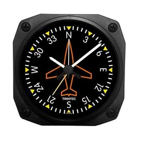 Trintec Industries Classic Directional Gyro Alarm Clock