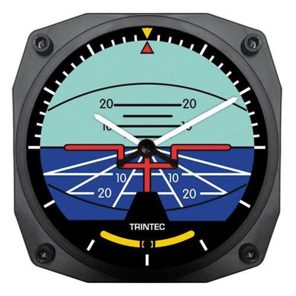 Trintec Industries Classic Artificial Horizon Clock
