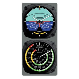 Trintec Industries Classic Artificial Horizon/Airspeed