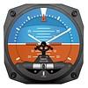 Modern Artificial Horizon Clock