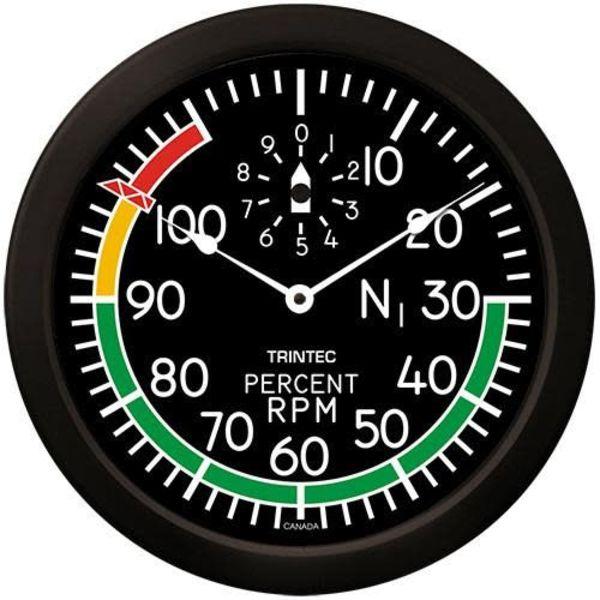 Trintec Industries Modern RPM Clock