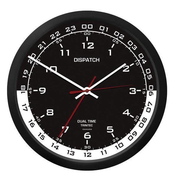 "Trintec Industries 10"" Dispatch Dual Time Clock"