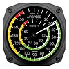 Classic Airspeed Indicator Thermometer