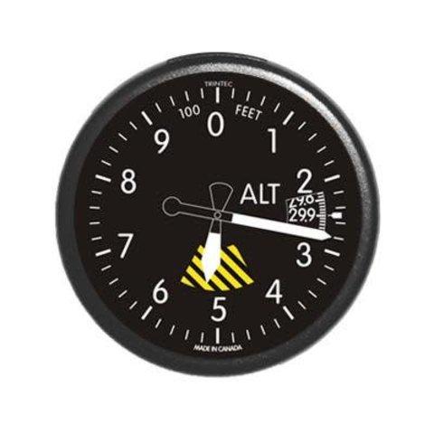 Classic Round Altimeter Fridge Magnet