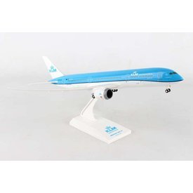 SkyMarks B787-9 Dreamliner KLM 1:200 with Gear+stand