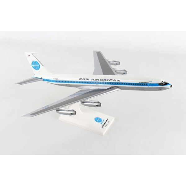 SkyMarks B707 Pan Am  Jet Clipper Monsoon N415PA 1:150 with stand (no gear)