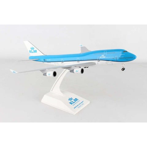 B747-400 KLM New Livery 2014 1:200 with gear + stand