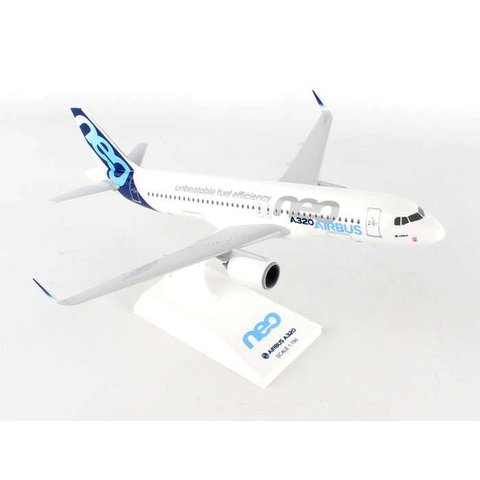 A320neo Airbus House 1:150 with stand (no gear)