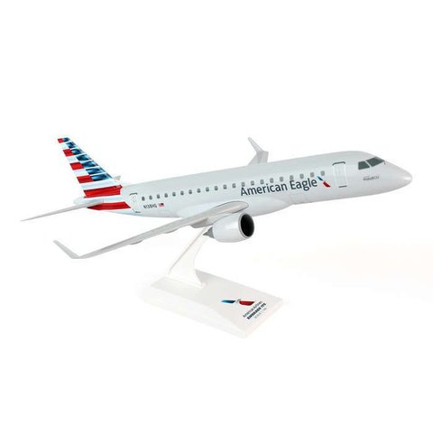 ERJ175 American Eagle Republic 2013 livery 1:100 with stand (no gear)