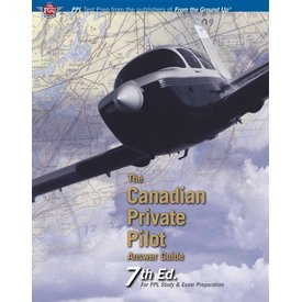 Aviation Publishers Canadian Private Pilot Answer Guide softcover 7th Edition
