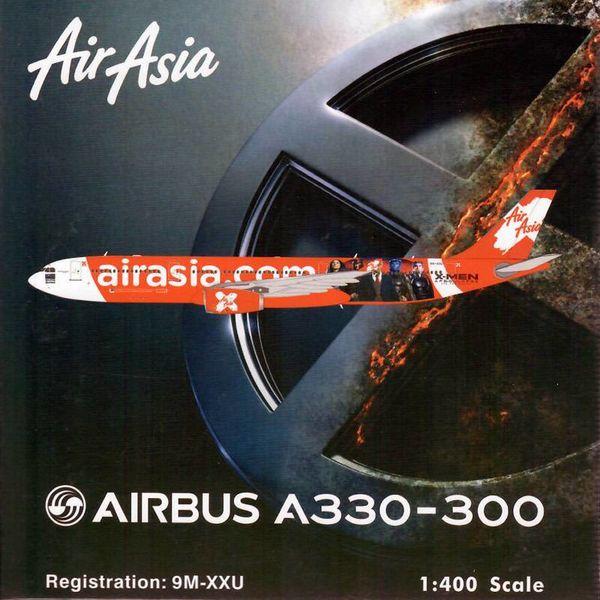 Phoenix A330-300 Air Asia X Xmen Apoc.400