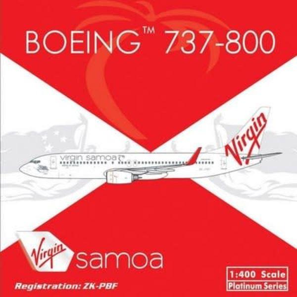Phoenix B737-800 Virgin Samoa Zk-Pbf1:400